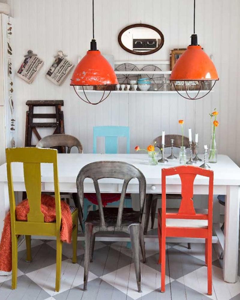 vintage interior design zamp co colorful vintage dining room source pinterest